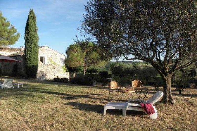 Location de vacances - Mas à Saint-Christol-de-Rodières