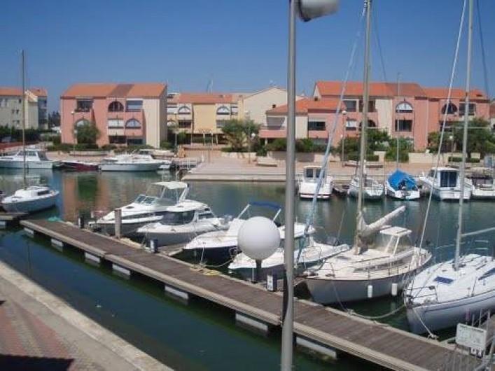Location de vacances - Appartement à Palavas-les-Flots - Port de Carnon à quelques mètres.