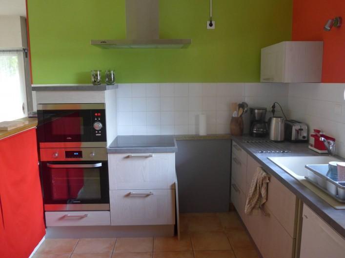 Location de vacances - Chambre d'hôtes à Camoël - Cuisine