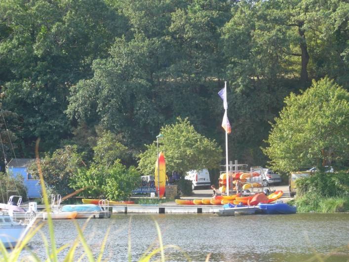 Location de vacances - Chambre d'hôtes à Camoël - Photo 5 - Club Canoé/Kayak
