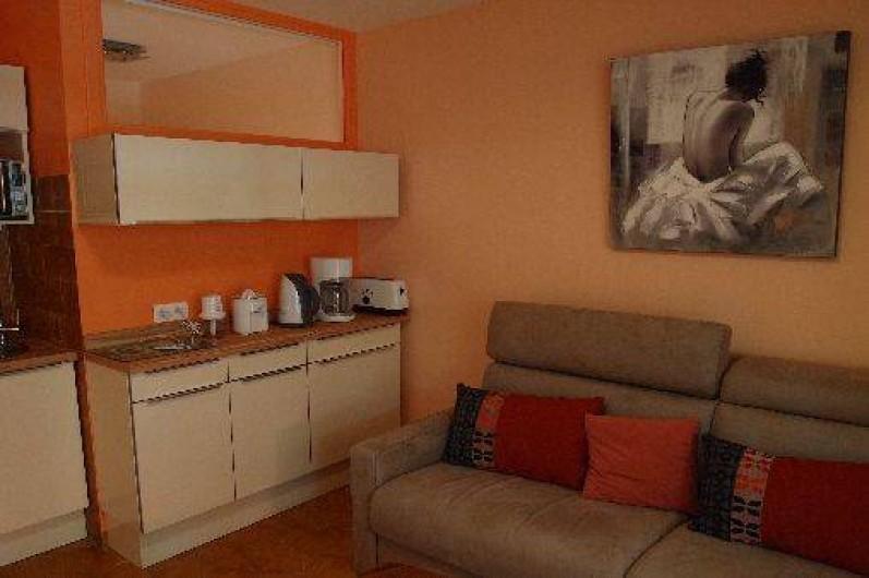 Location de vacances - Studio à Saint-Cyr-sur-Mer