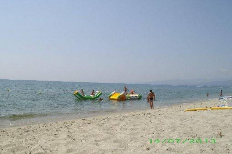 Location de vacances - Appartement à Isolaccio-Di-Fiumorbo - Plage de Calzarellu à 10Km de la maison