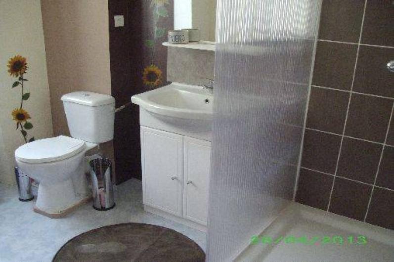 Location de vacances - Appartement à Isolaccio-Di-Fiumorbo - Salle d'eau