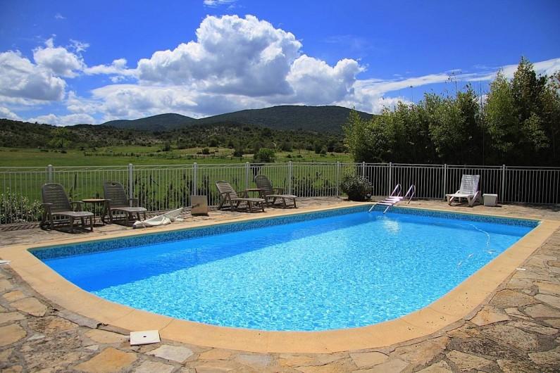 Location de vacances - Appartement à Saint-Hippolyte-du-Fort - La Piscine