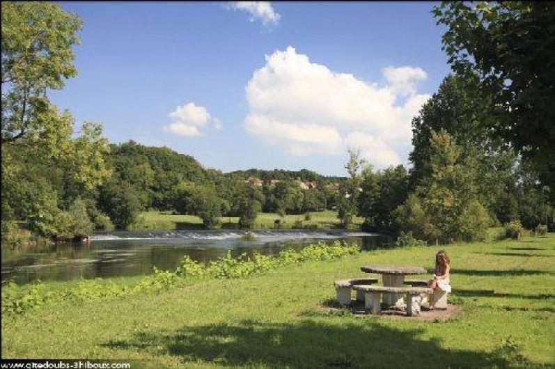 Location de vacances - Gîte à Mondon - Bord de l'oignon