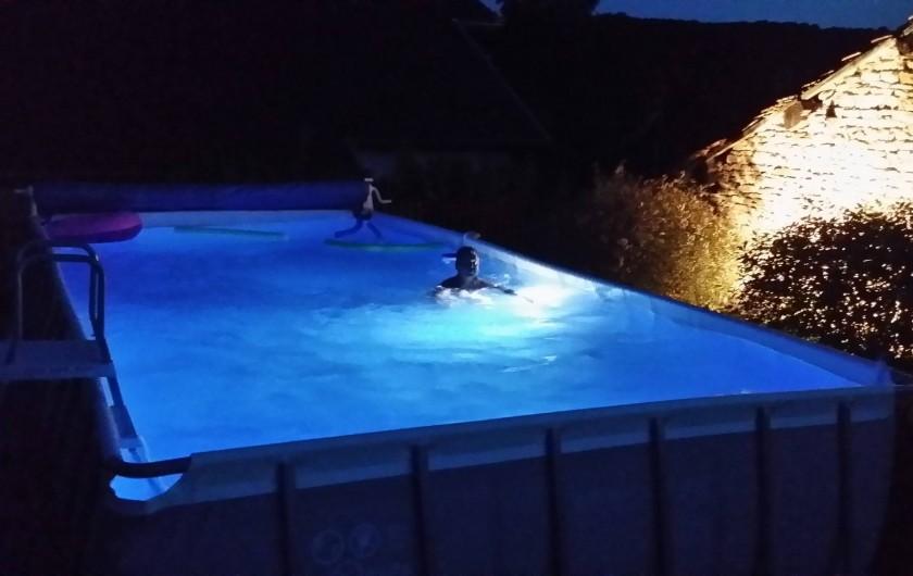 Location de vacances - Gîte à Mondon - Piscine des propriétaires mise à disposition de nos hôtes.