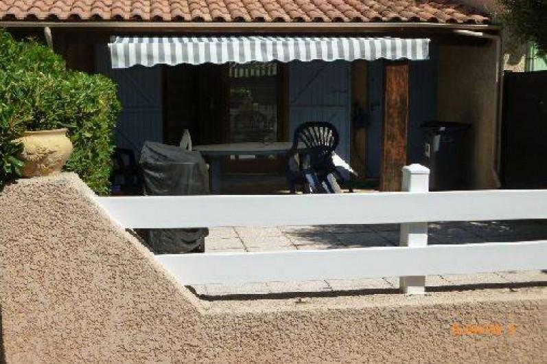 Location de vacances - Maison - Villa à Portiragnes - terrasse cloturée