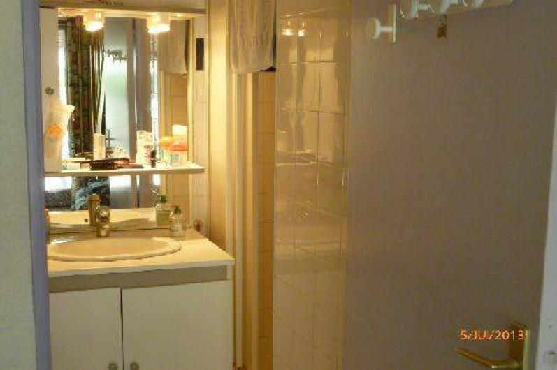 Location de vacances - Maison - Villa à Portiragnes - salle d'eau