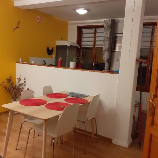 Location de vacances - Appartement à Saint-Valery-sur-Somme - coin repas