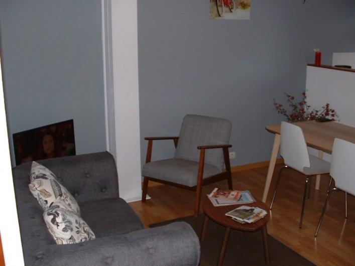 Location de vacances - Appartement à Saint-Valery-sur-Somme - coin détente