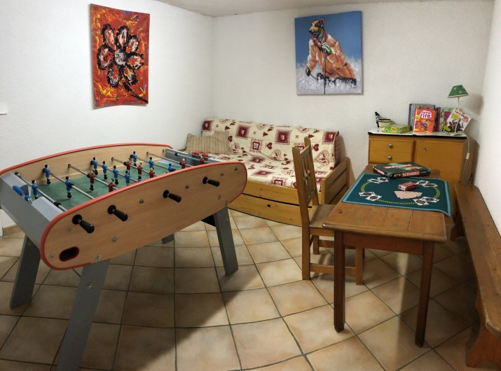 Location de vacances - Chalet à Les Gets - salle de jeux