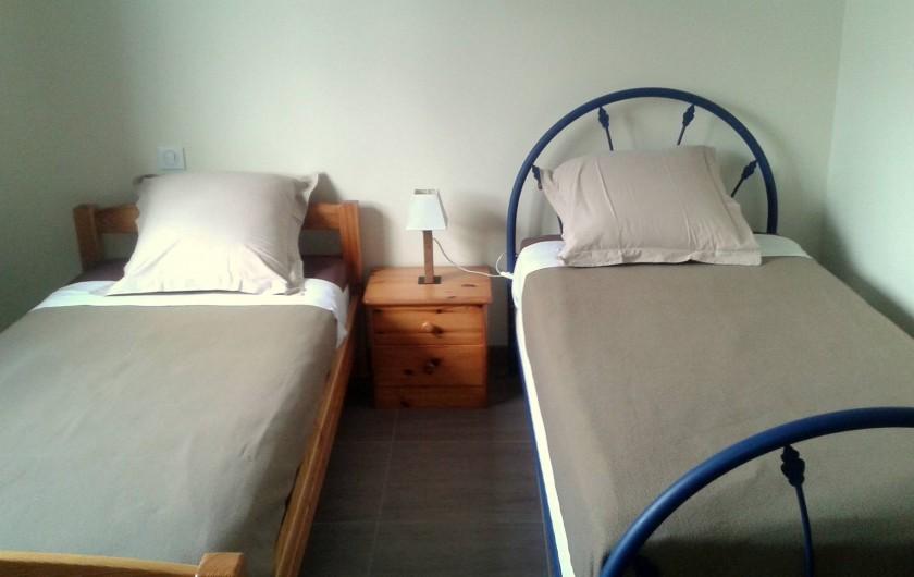 Location de vacances - Villa à Audierne - chambre étage