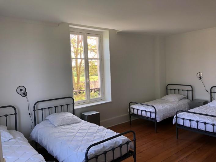 Location de vacances - Gîte à Tonnoy - la chambre 2