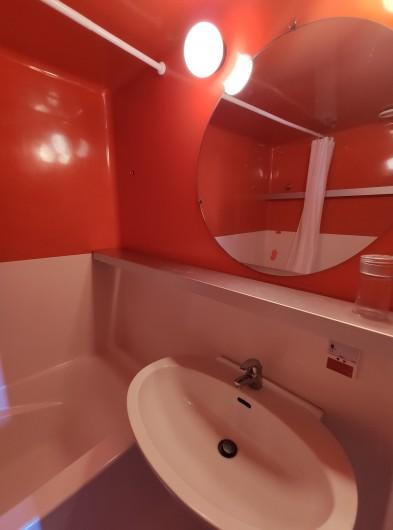 Location de vacances - Appartement à Arc 1800 - SdB