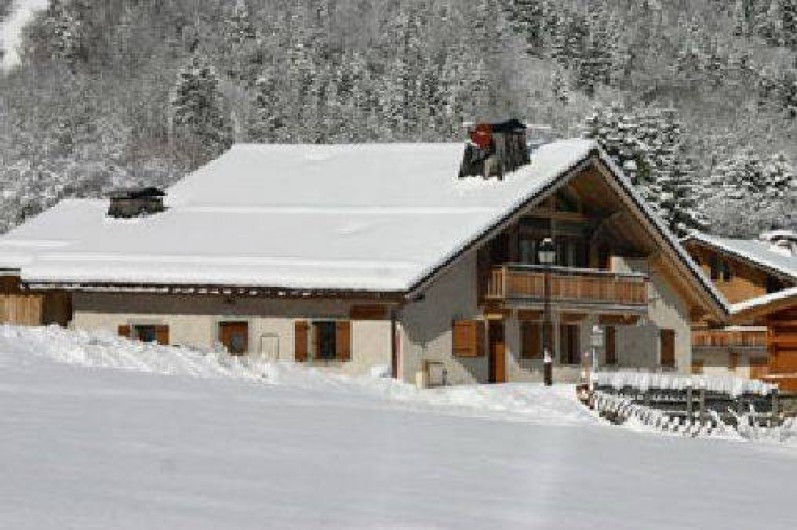 location chalet ski contamines