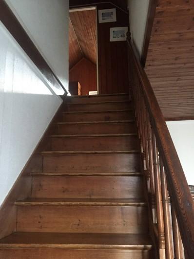 Location de vacances - Villa à Saint-Hilaire-de-Riez - Escalier vers les chambres 3 et 4