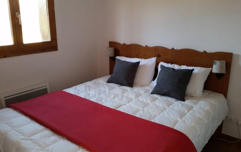 Location de vacances - Appartement à La Joue du Loup - CHAMBRE AVEC LIT DOUBLE