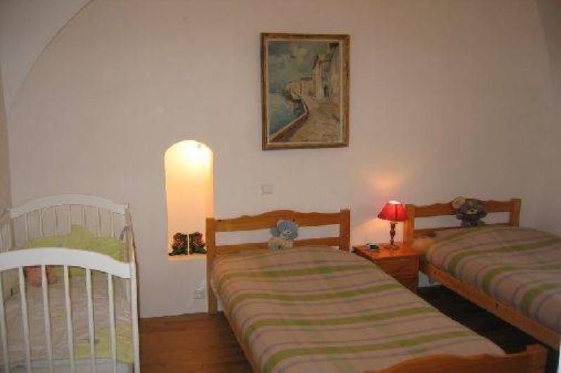 Location de vacances - Gîte à Saint-Marcel - Chambre 1