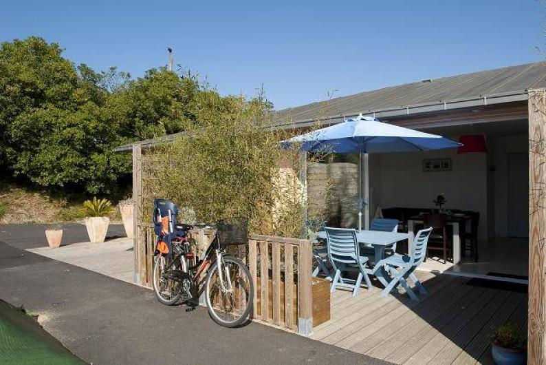 Location de vacances - Maison - Villa à Guissény - Terasqse d'une maison 2/4 personnes