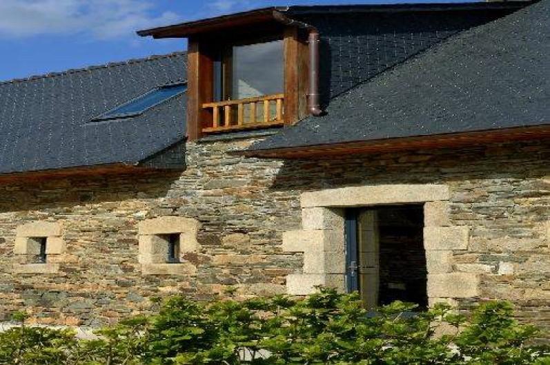 Location de vacances - Gîte à Plestin-les-Grèves - détail de la façade