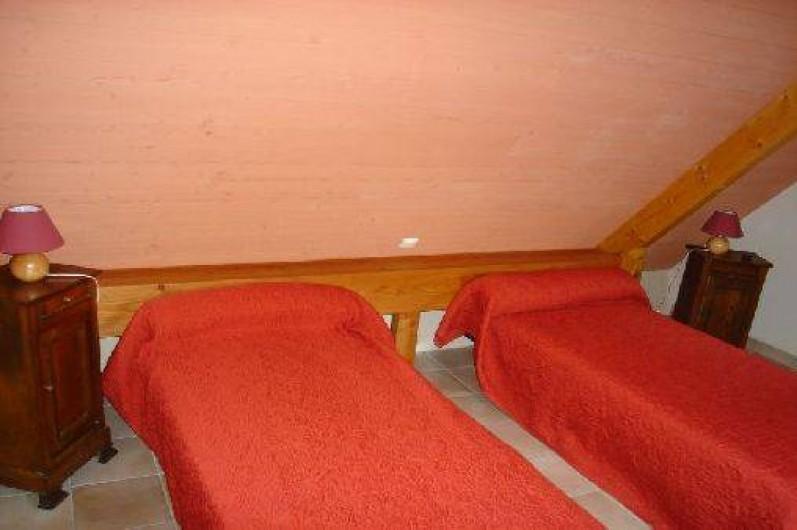 Location de vacances - Gîte à Plestin-les-Grèves - chambre rouge