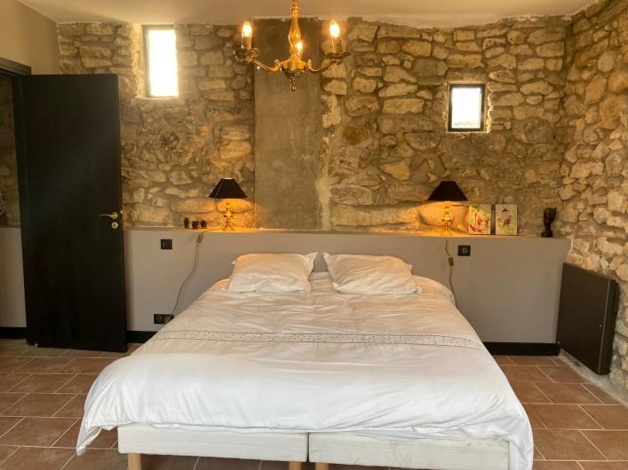 Location de vacances - Mas à Clansayes - Chambre double