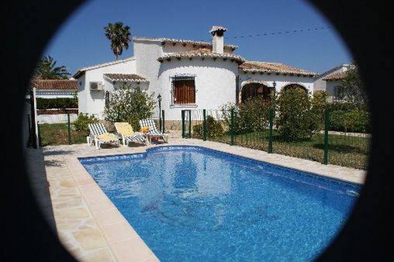 villa espagne els poblets denia 90 km valence et alicante avec piscine priv e s curis e la. Black Bedroom Furniture Sets. Home Design Ideas