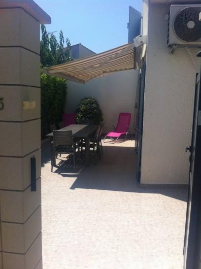 Location de vacances - Villa à Vic-la-Gardiole - villa n°5 33 m² 4 personnes clim. lave vaisselle . lave linge