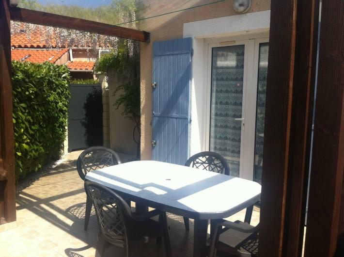 Location de vacances - Villa à Vic-la-Gardiole - villa n°4  33 m² clim.lave vaisselle . lave linge 4 personnes (6 couchages)