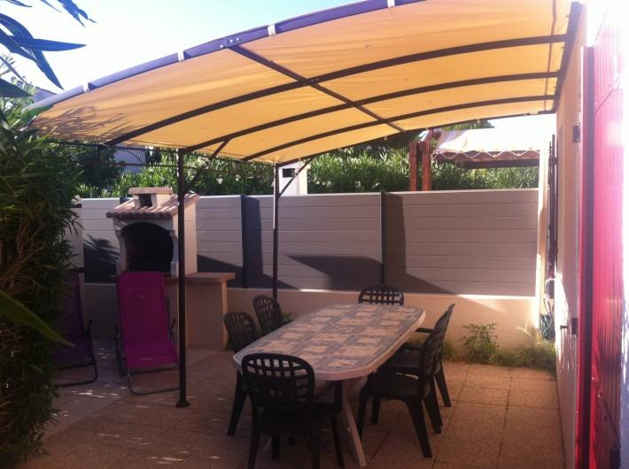 Location de vacances - Villa à Vic-la-Gardiole - villa n°3 46m² 7 personnes maxi clim. lave vaisselle . lave linge