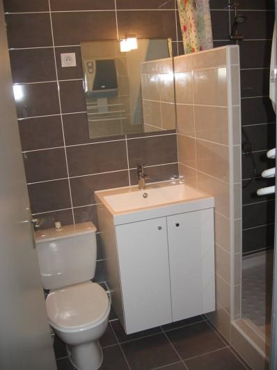 Location de vacances - Villa à Vic-la-Gardiole - salle d'eau villa n°4