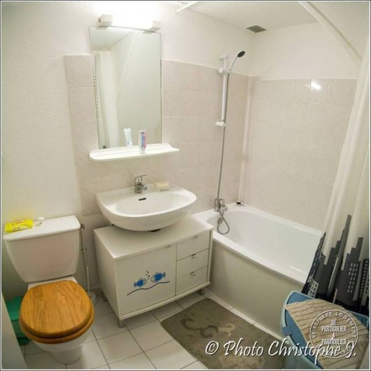 Location de vacances - Villa à Vic-la-Gardiole - salle d'eau villa 2