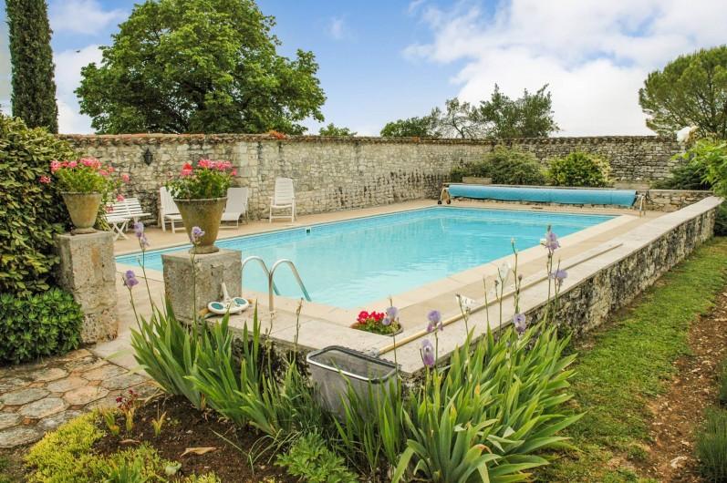 Location de vacances - Maison - Villa à Montcuq - Piscine privée aux clients - voir description