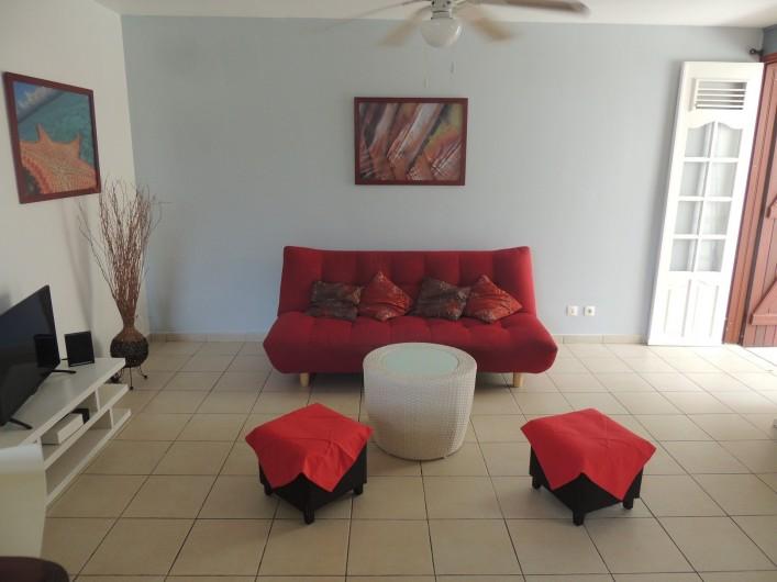 Location de vacances - Appartement à Le Gosier - Le salon