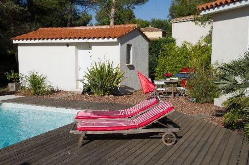 Location de vacances - Villa à Castelnau-le-Lez