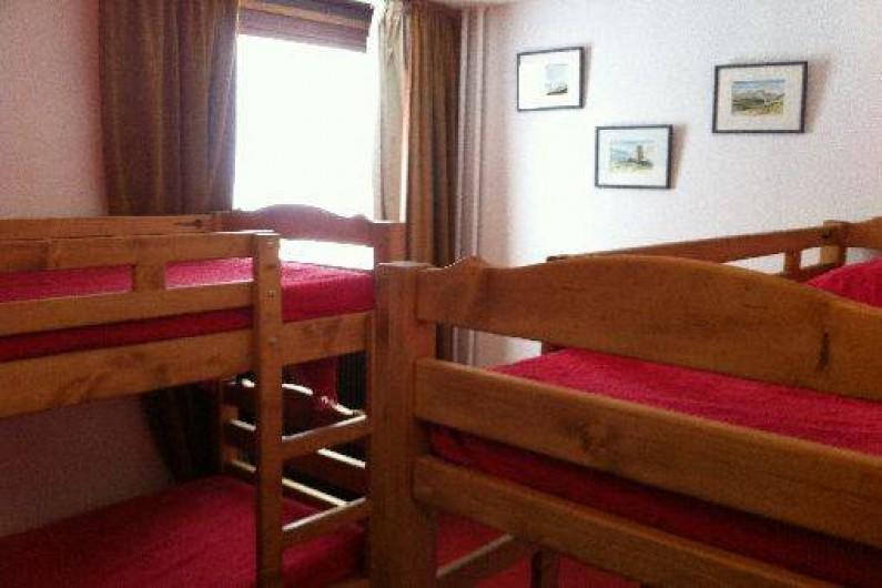 Location de vacances - Appartement à Les Menuires - Chambre enfant 4 couchages