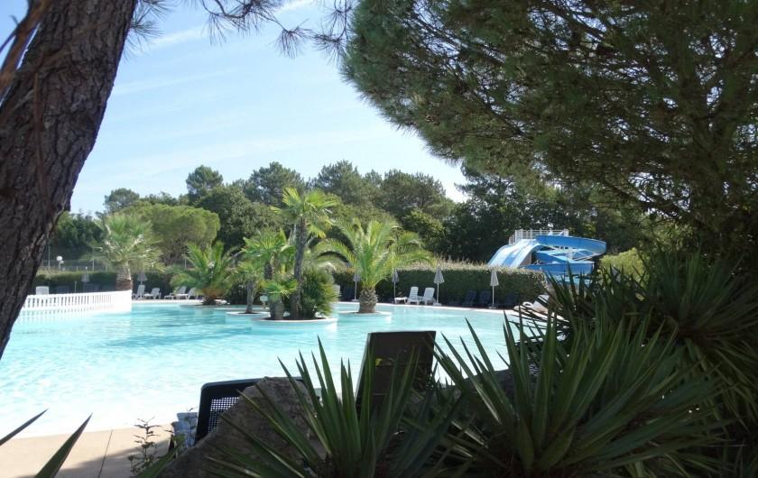 Location de vacances - Chalet à La Teste-de-Buch - piscines