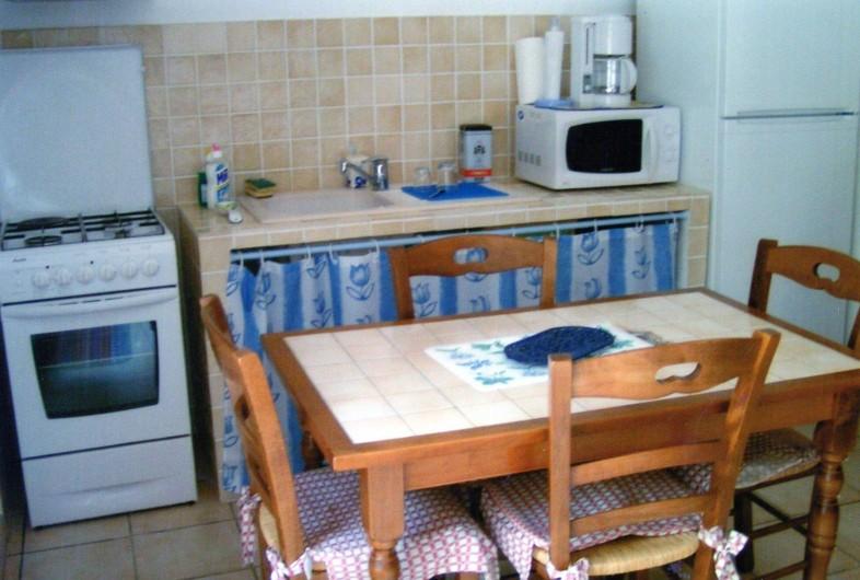 Location de vacances - Villa à Porto-Vecchio - cuisine