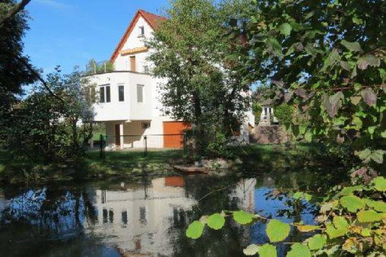 Location de vacances - Villa à Strasbourg - Villa vue coté sud