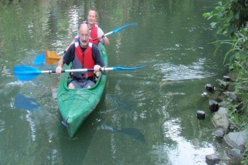 Location de vacances - Villa à Strasbourg - Sorties en canoës kayaks
