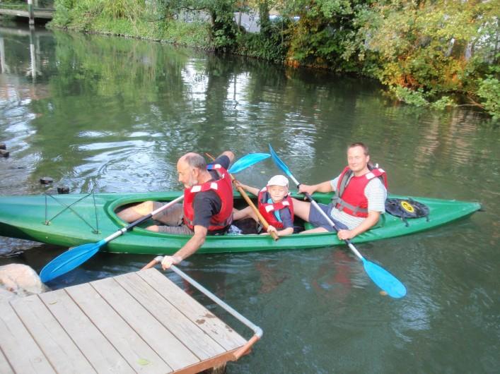 Location de vacances - Villa à Strasbourg - Kayak tri places