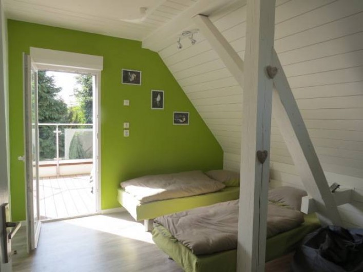 Location de vacances - Villa à Strasbourg - Chambre N°2