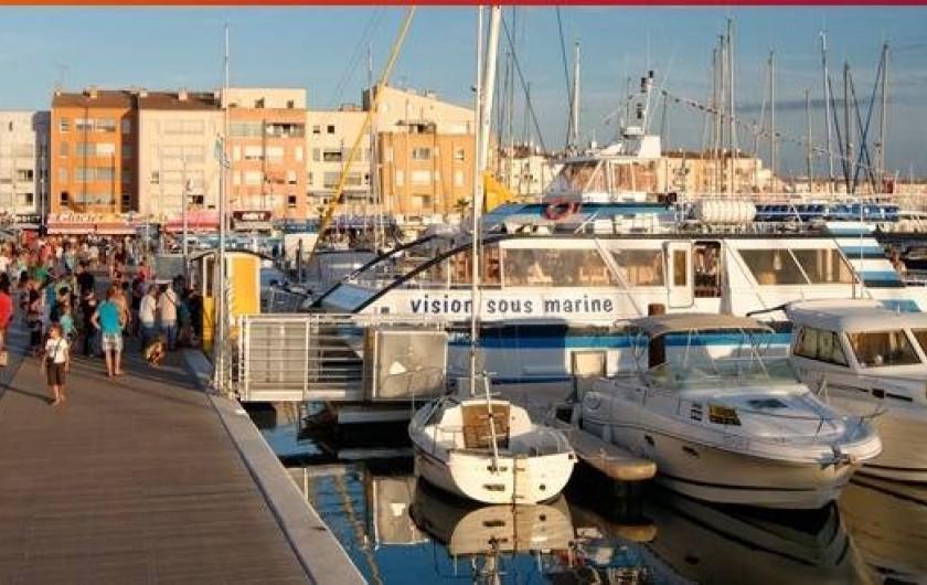 Location de vacances - Appartement à Agde - Le Port du Cap d'Agde