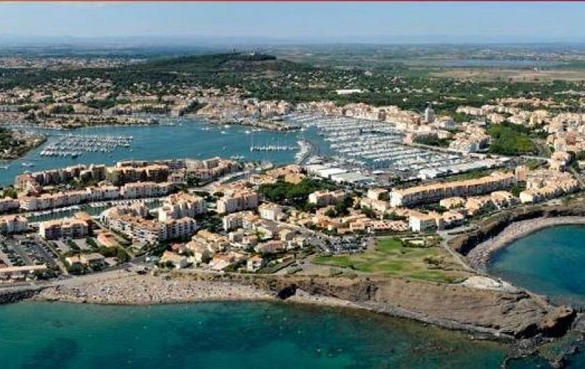 Location de vacances - Appartement à Agde - Le Cap d'Agde