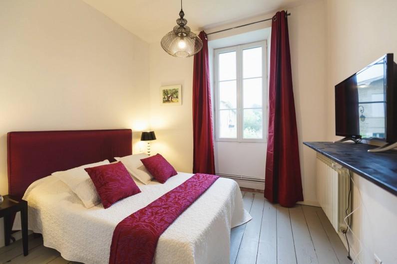 Location de vacances - Chambre d'hôtes à Sauternes - Chambre La Tour Blanche