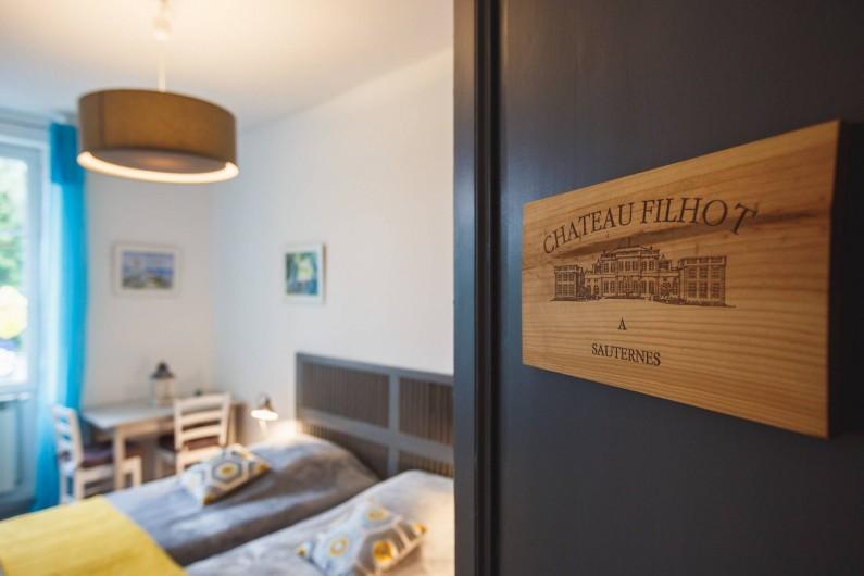Location de vacances - Chambre d'hôtes à Sauternes - Chambre Château Filhot