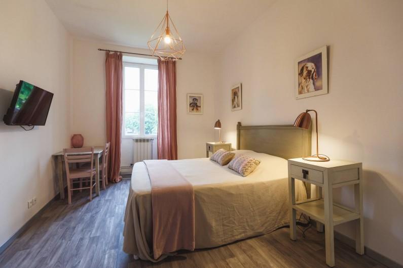 Location de vacances - Chambre d'hôtes à Sauternes - Chambre Rose