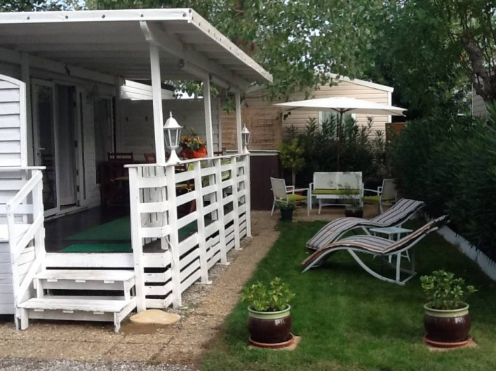 Location de vacances - Camping à Farinette Plage - terrasse