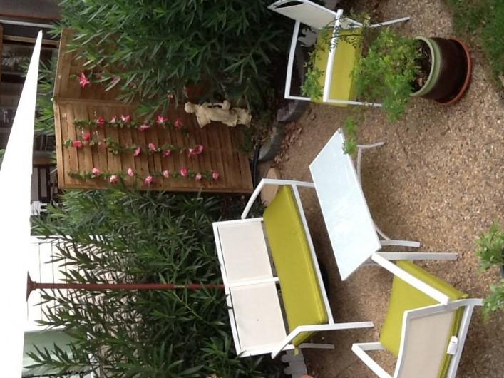 Location de vacances - Camping à Farinette Plage - jardin