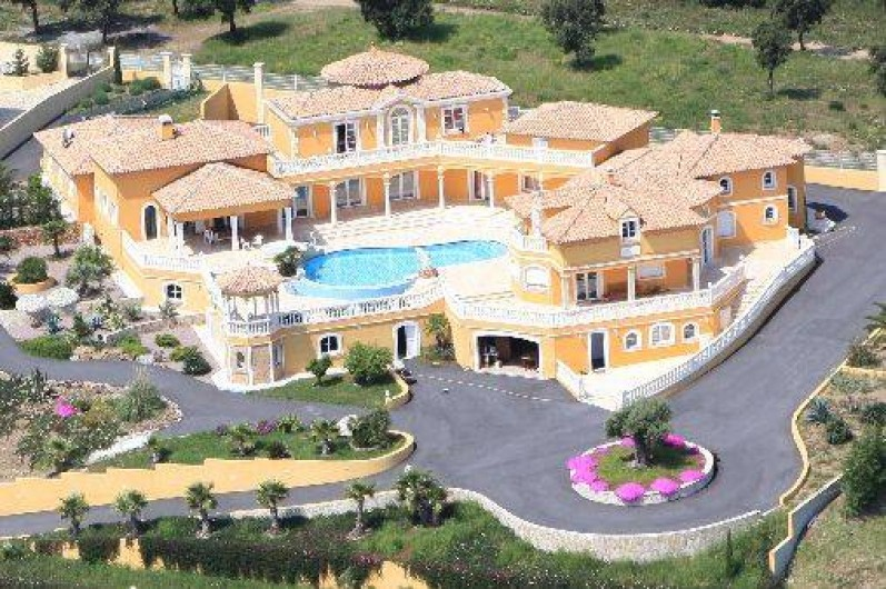 Location de vacances - Villa à Les Issambres - Villa complète Vue Drone